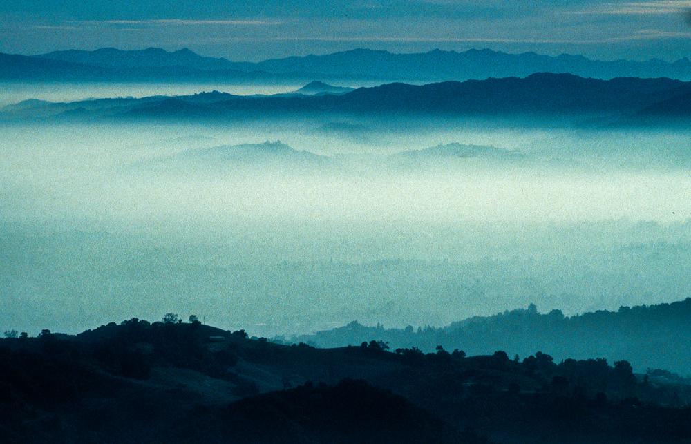 USA, Kalifornien, Santa Cruz Mountains (1997)