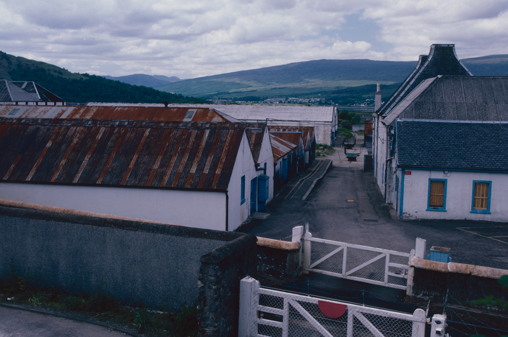 Großbritannien, Schottland, Fort Williams, Ben Nevis Distillery (1987)
