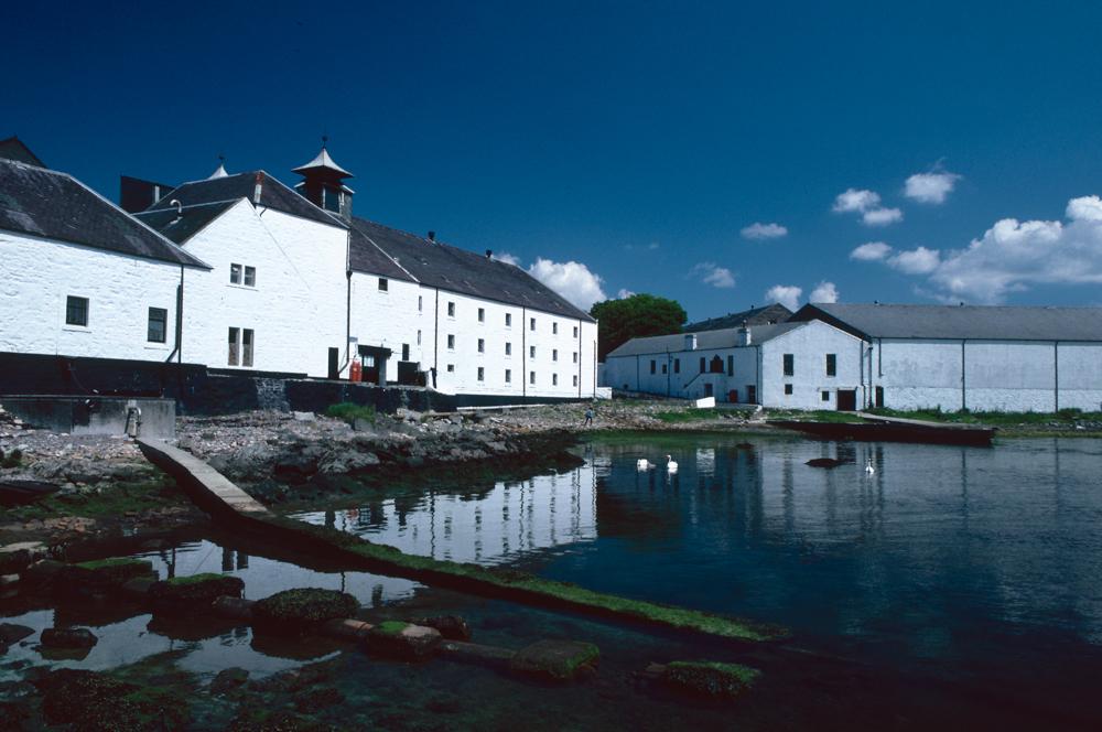Großbritannien, Schottland, Islay, Laphroaig Distillery (1987)