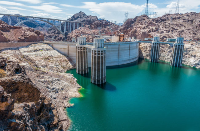 USA, Arizona-Nevada, Hoover Dam (2016)