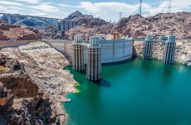 USA, Arizona-Nevada, Hoover Dam (2016)