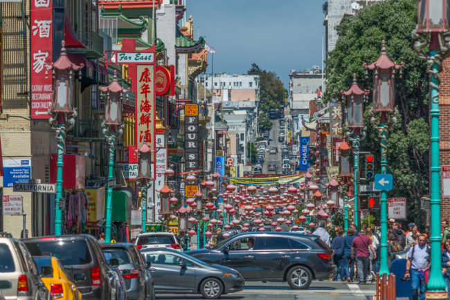 USA, Kalifornien, San Francisco, Chinatown (2016)