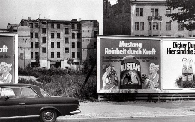 Deutschland Berlin Kreuzberg, Abrishäuser (1975) / Germany, Berlin Kreuzberg, buildings awaiting demolition (1975)