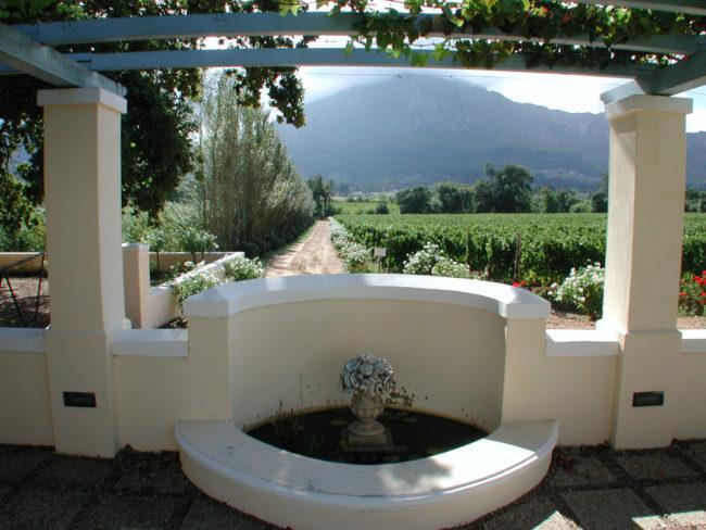 Südafrika, Western Cape, Franschhoek, Auberge Clermont (2002)