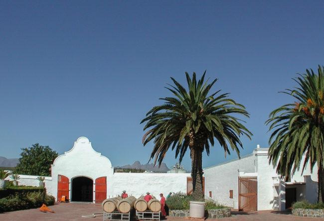 Südafrika, Western Cape, Stellenbosch, Meerlust Estate (2001)