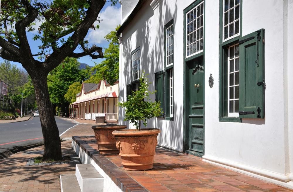 Südafrika, Stellenbosch, Plein Street (2012)