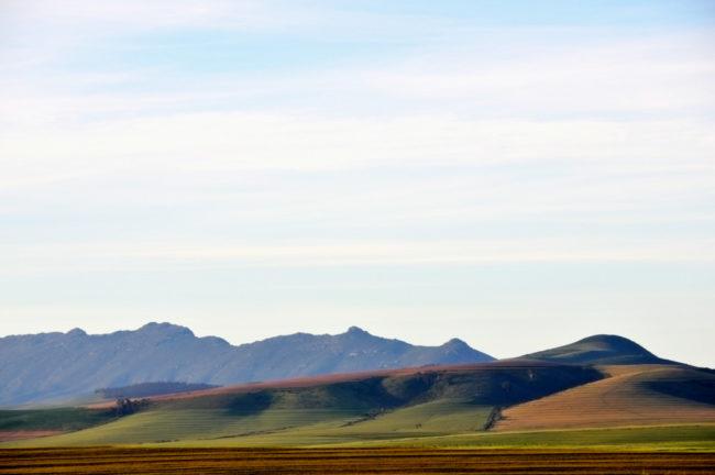 Südafrika, Perdeberg, Blick auf Porseleinberg (2012)