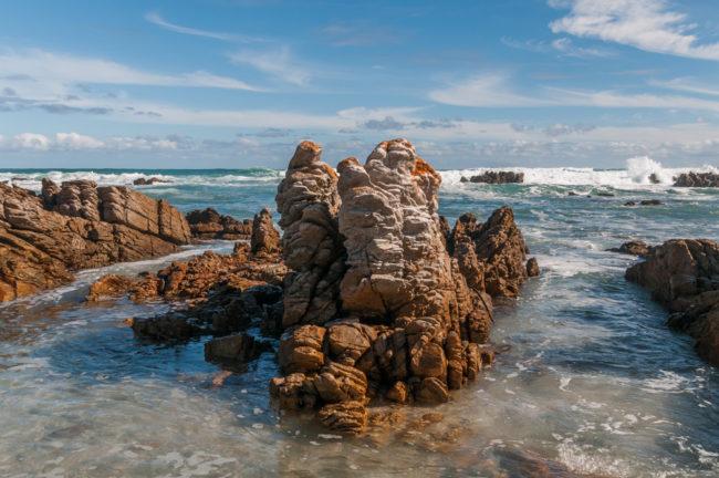 Südafrika, Cape Agulhas, Küste und Meer (2008)
