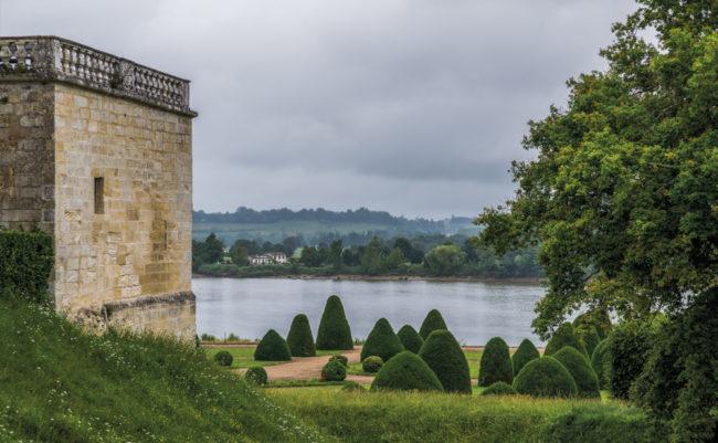 Frankreich, Gironde, Vayres, Château de Vayres (2016)