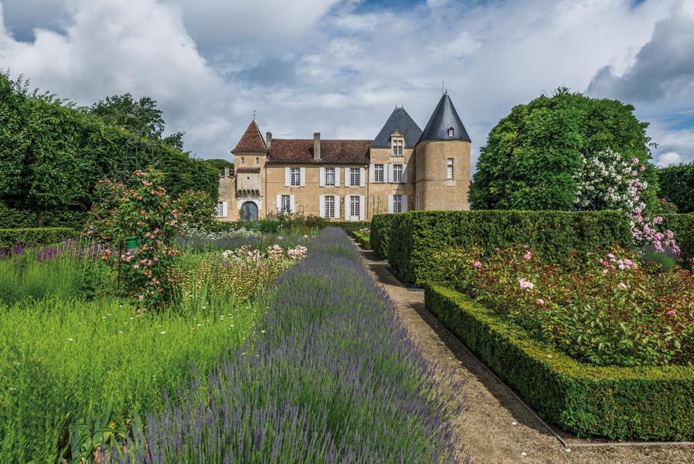 Frankreich, Gironde, Sauternes Château d'Yquem und Garten (2016)
