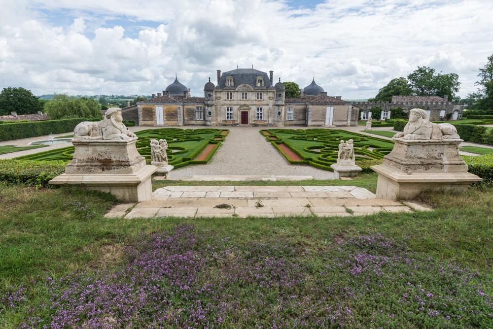 Frankreich, Gironde, Sauternes Château de Malle und Park (2016)