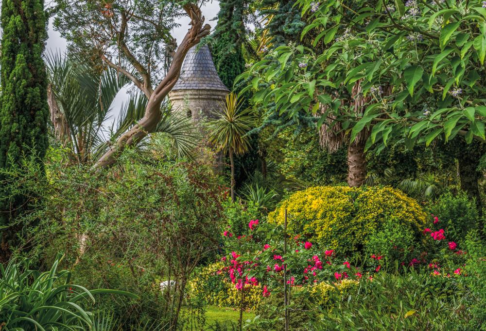 Frankreich, Gironde, Sauternes Château Raymond-Lafon, Garten (2016)