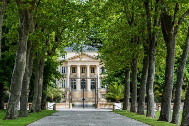 Frankreich, Gironde, Margaux Château Margaux (2016)