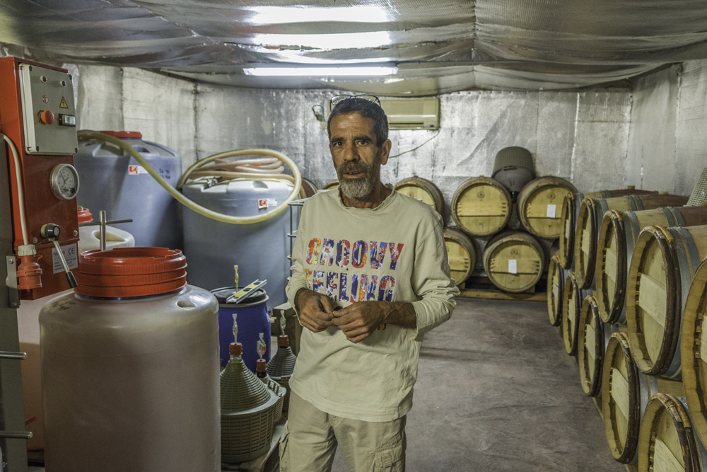 Erez Rota, Rota Winery, Negev, Israel