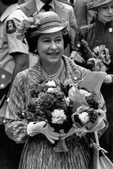 Australien, Brisbane, Queen-Besuch anlässlich der Commonwealth Games (1982)
