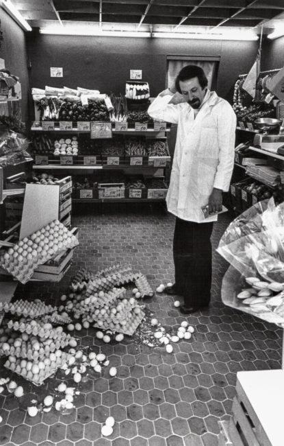 Deutschland, Frankfurt, Zerbrochene Eier (1977)
