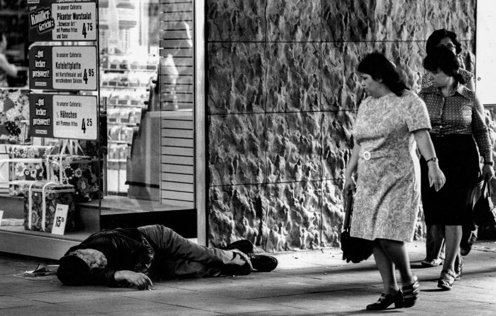 Deutschland, Frankfurt, Hauptwache (1977)