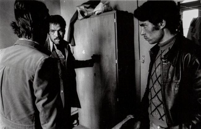 Frankreich, Orléans, marokkanische Landarbeiter im Streik (1980)