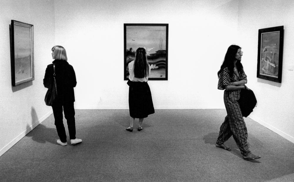Frankreich, Paris, Ausstellung Yves Tanguy im Centre Beaubourg (1978)
