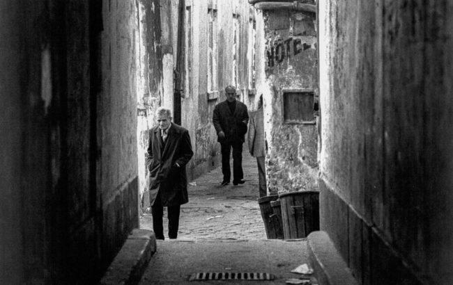Frankreich, Paris, Gasse im alten Belleville (1975)