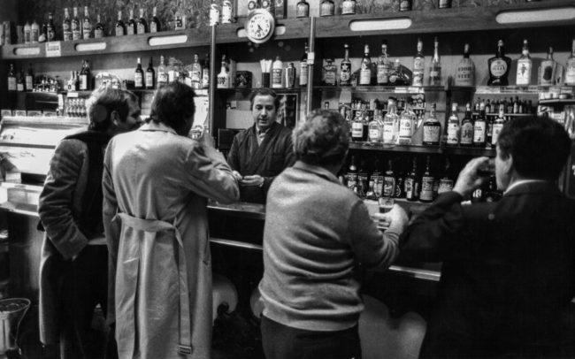 Italien, Rom, Bar Vittorio (1985)