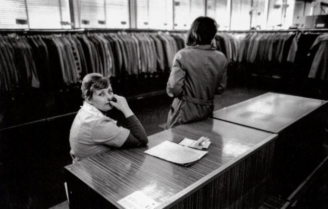 Polen, Warschau, Langeweile im Kaufhaus (1978)