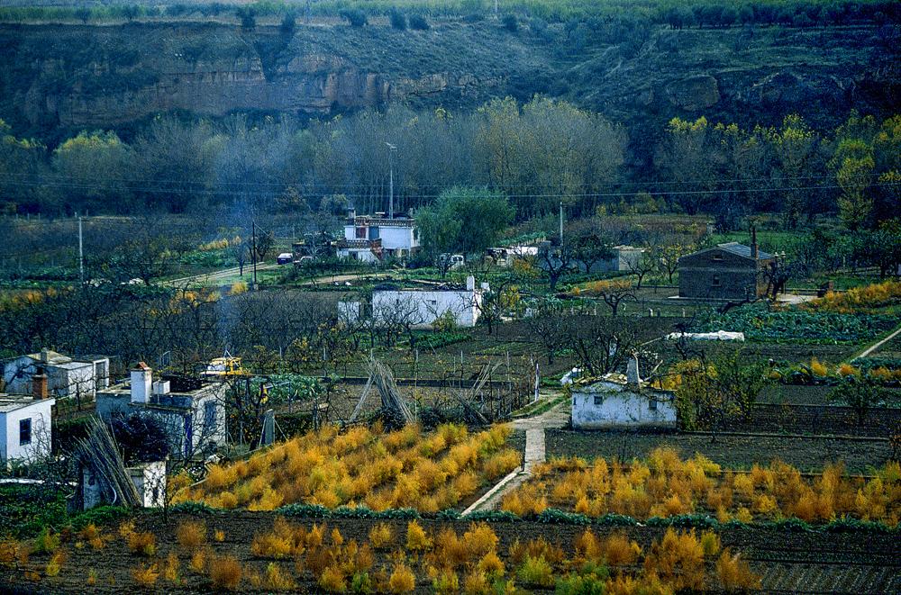 Spanien, Rioja Baja, Rio Cidacos