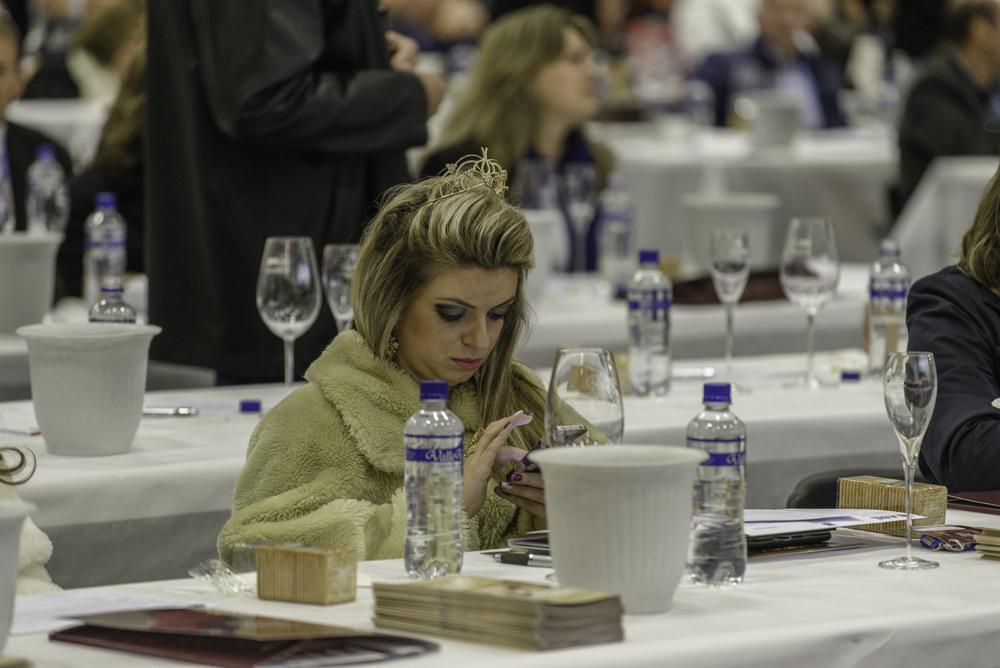 Brasilien, Rio Grande do Sul, Bento Goncalves - - Nationale Weinberwertung des Jahrgangs 2013 der brasilianischen Önologenvereinigung, Weinköniginnen (2013)