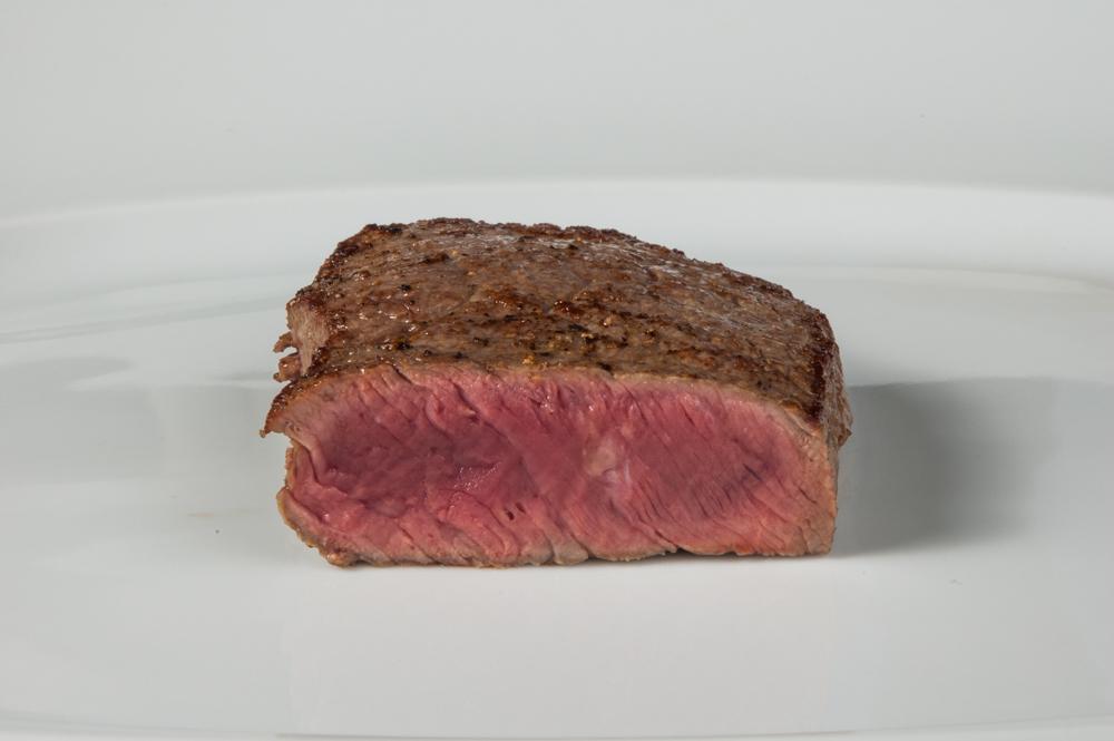 Garstufen / Bratstufen: blutig, rot, saignant, medium rare - enos-Kochlexikon