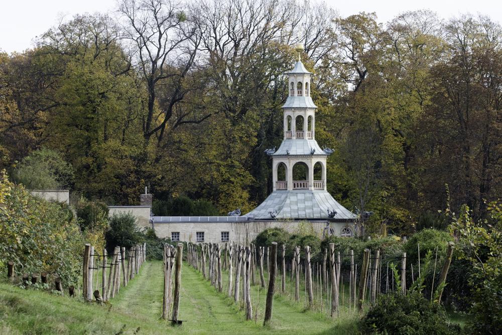 Potsdam, Königlicher Weinberg Park Sanssouci, Drachenhaus (1770-72)