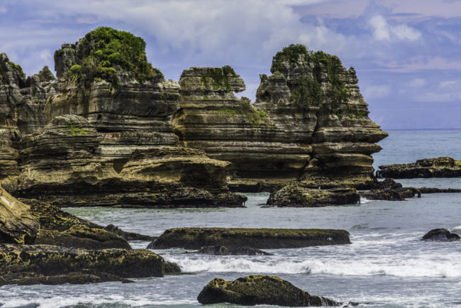 Neuseeland, Charleston, Pancake Rocks - (2017)