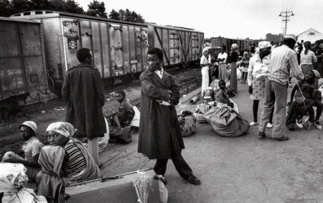 Angola, Huambo, Flüchtlinge im Bürgerkrieg - (1976)