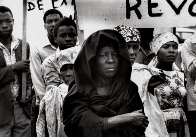 Angola, Luanda, Parade zur Parlamentswahl - (1976)