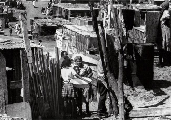 Südafrika, Kapstadt, Apartheid, Crossroads - (1978)