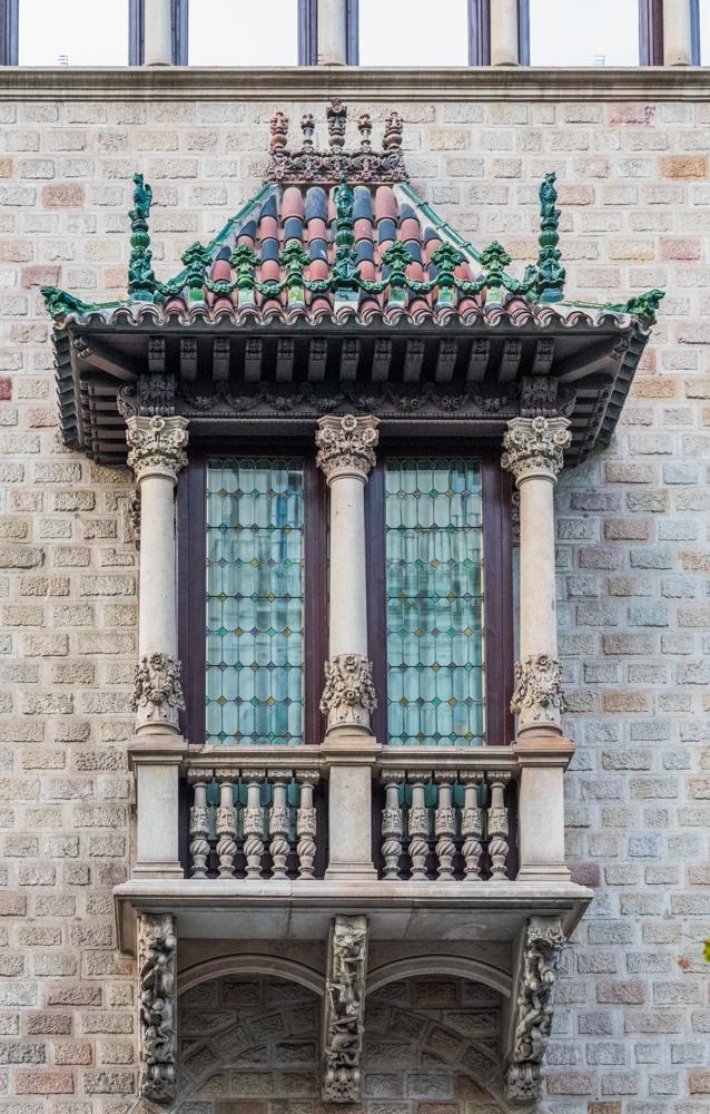 Spanien, Katalonien, Barcelona, Modernisme-Architektur, Puig i Cadafalch, Casa Serra, Ramblas de Catalunya - (2017)