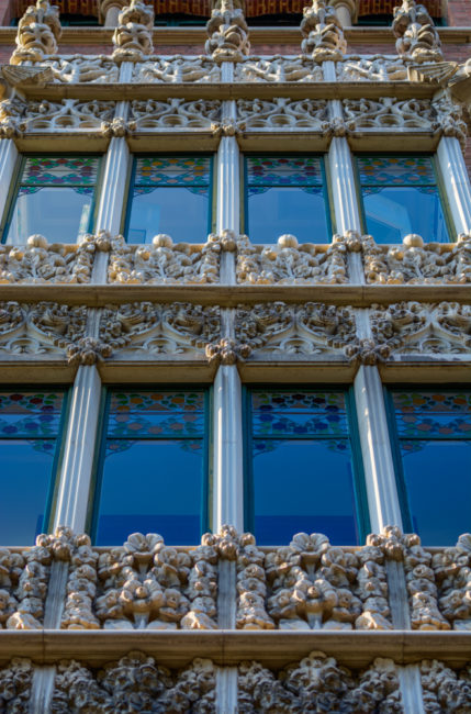 Spanien, Katalonien, Barcelona, Modernisme-Architektur, Puig i Cadafalch, Casa de les Punxes, Diagonal - (2017)