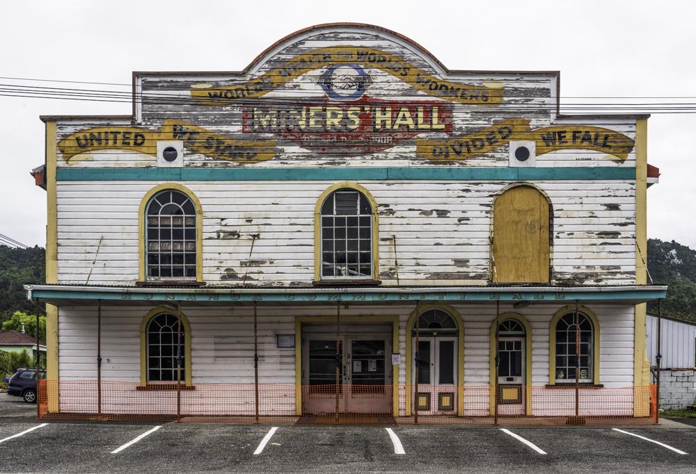 Neuseeland, Runanga, Miner's Hall - (2017)