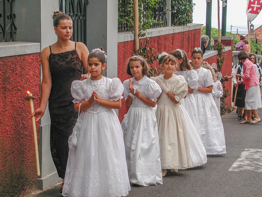 Portugal - Madeira - Ponte Delgado, Prozession (2000)